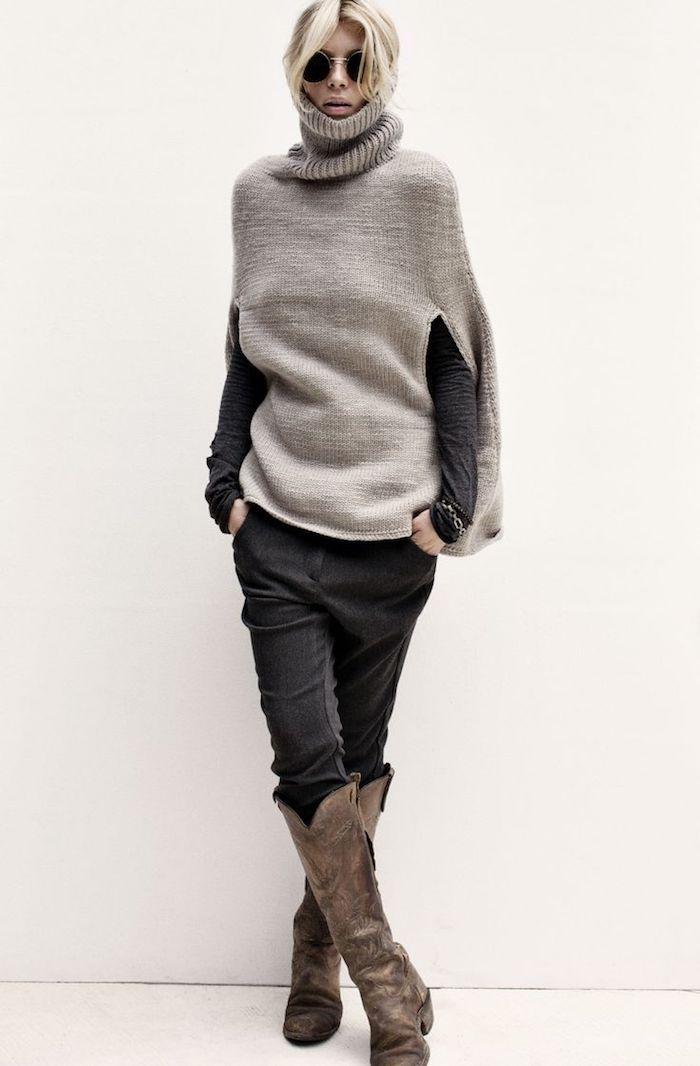 ▷ 1001 + Ideen für Poncho stricken zum Entlehnen #ponchosweater