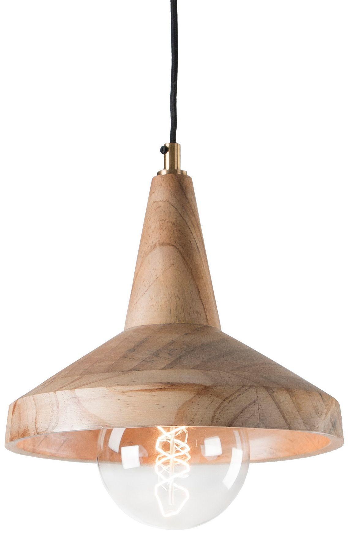Ispirata ai lampadari dei paesi nordici, molto semplici ed