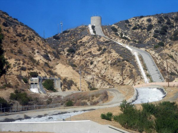 A Self Guided Tour Of The Los Angeles Aqueduct Sylmar Sylmar California Travel South