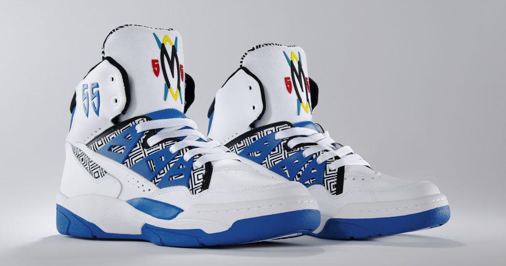 De nada milicia fluido  Adidas Mutombo (Run White/Blue-Black) | Blue adidas, Adidas men, Adidas