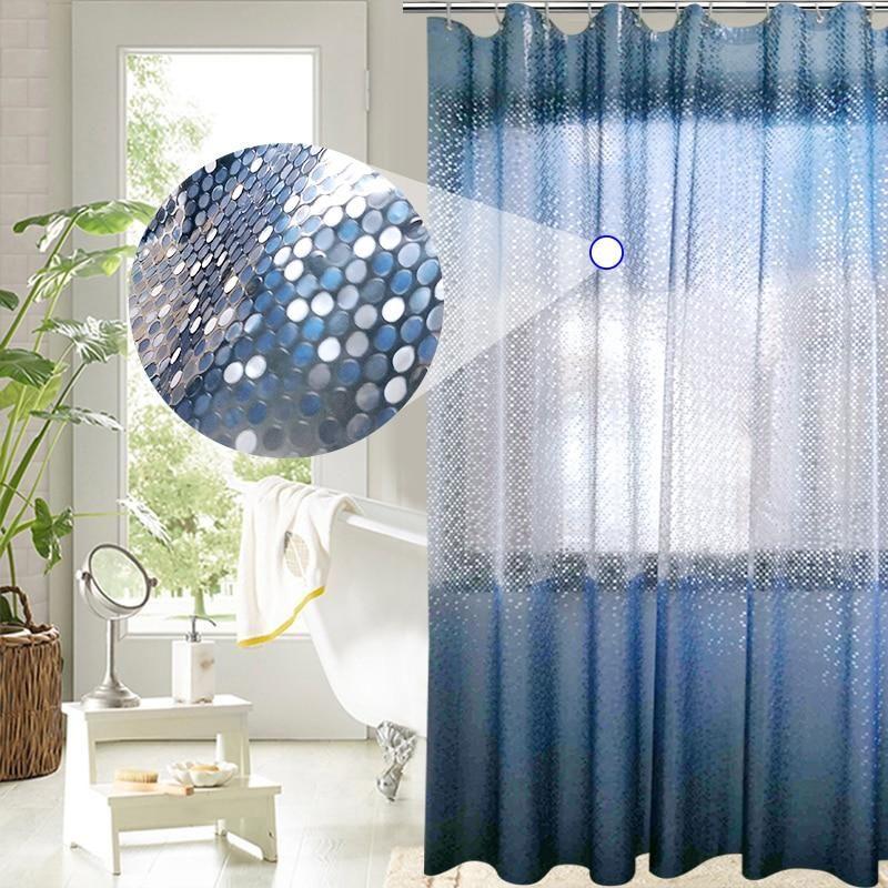 Blue Mosaic Shower Curtain   Curtains, Blue mosaic, Home decor