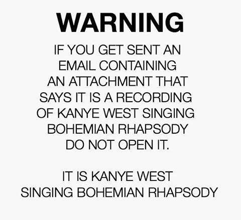 Kanye West Vs Freddie Mercury Video Goes Viral After Bohemian Rhapsody Cover Kanye West Clean Funny Memes Bohemian Rhapsody