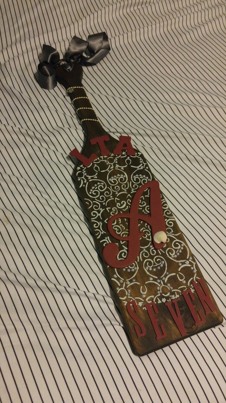 One of the most iconic symbols of greek life are paddles i made one of the most iconic symbols of greek life are paddles i made this one biocorpaavc Image collections