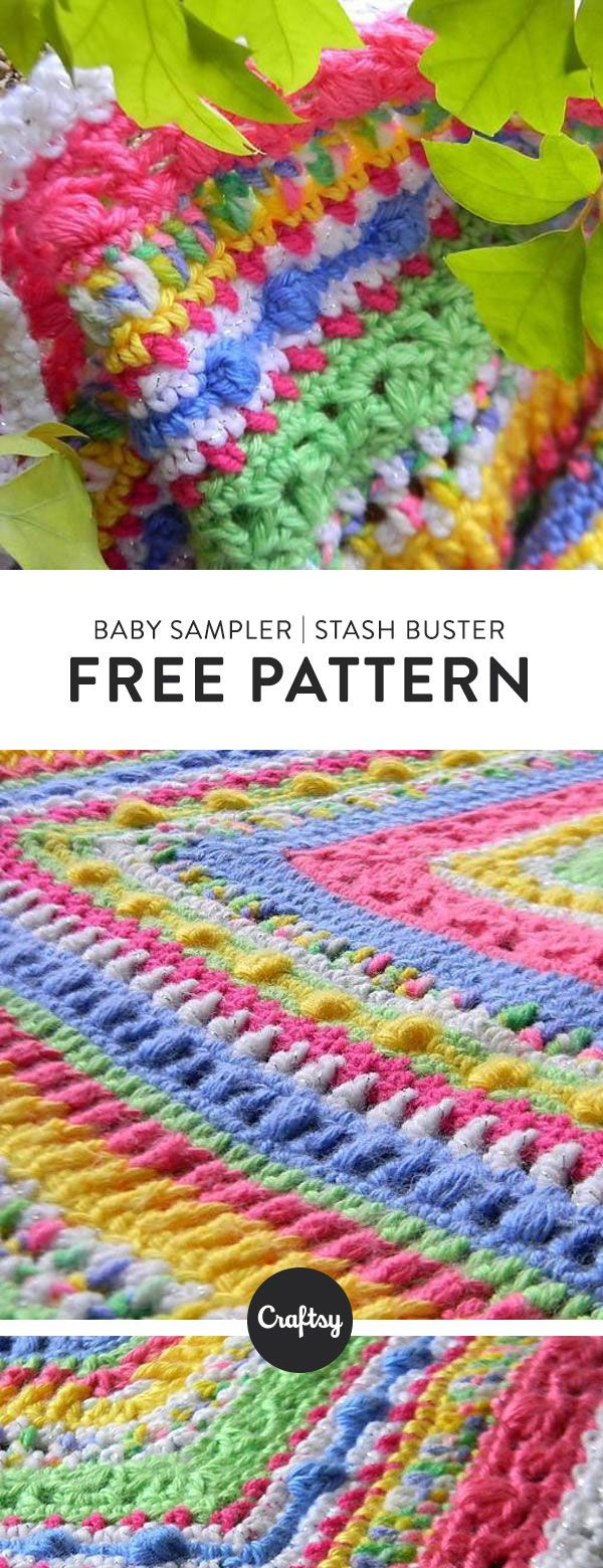 Free baby blanket knitting pattern | For Baby | Pinterest | Manta ...