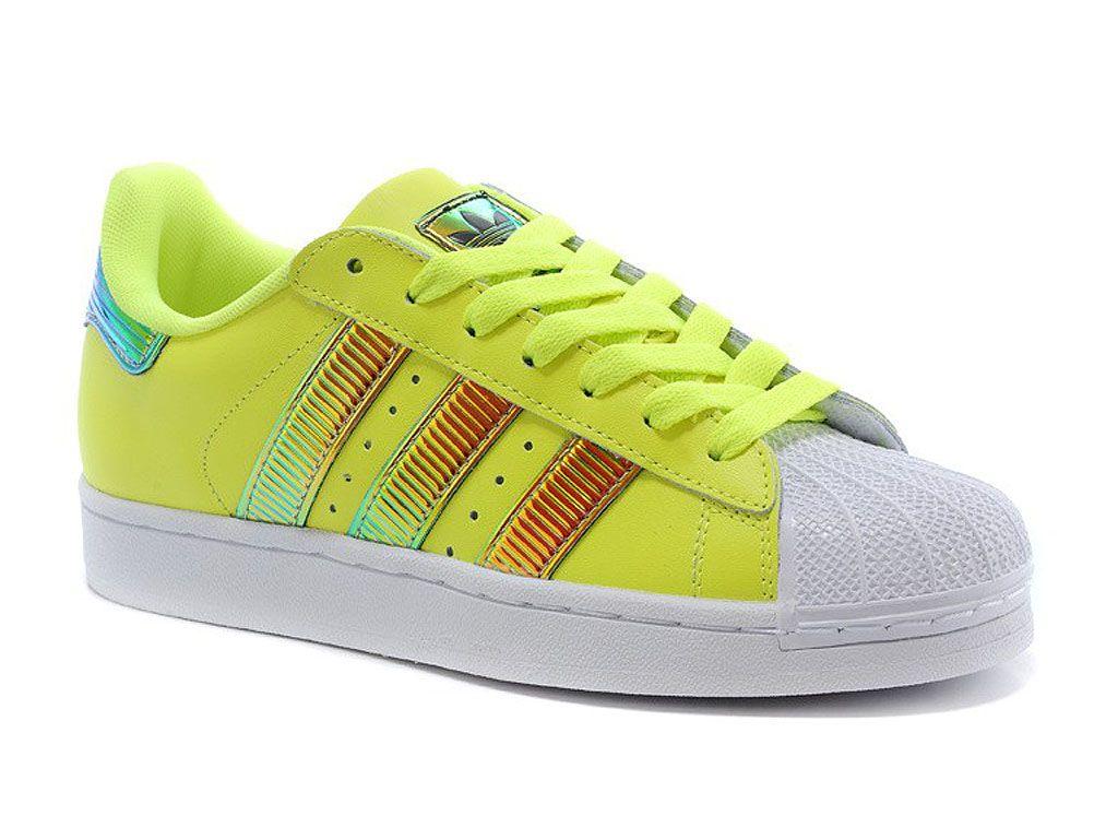 plus de photos 828c2 58e57 Adidas Originals Superstar Vert Homme/Femme | www ...
