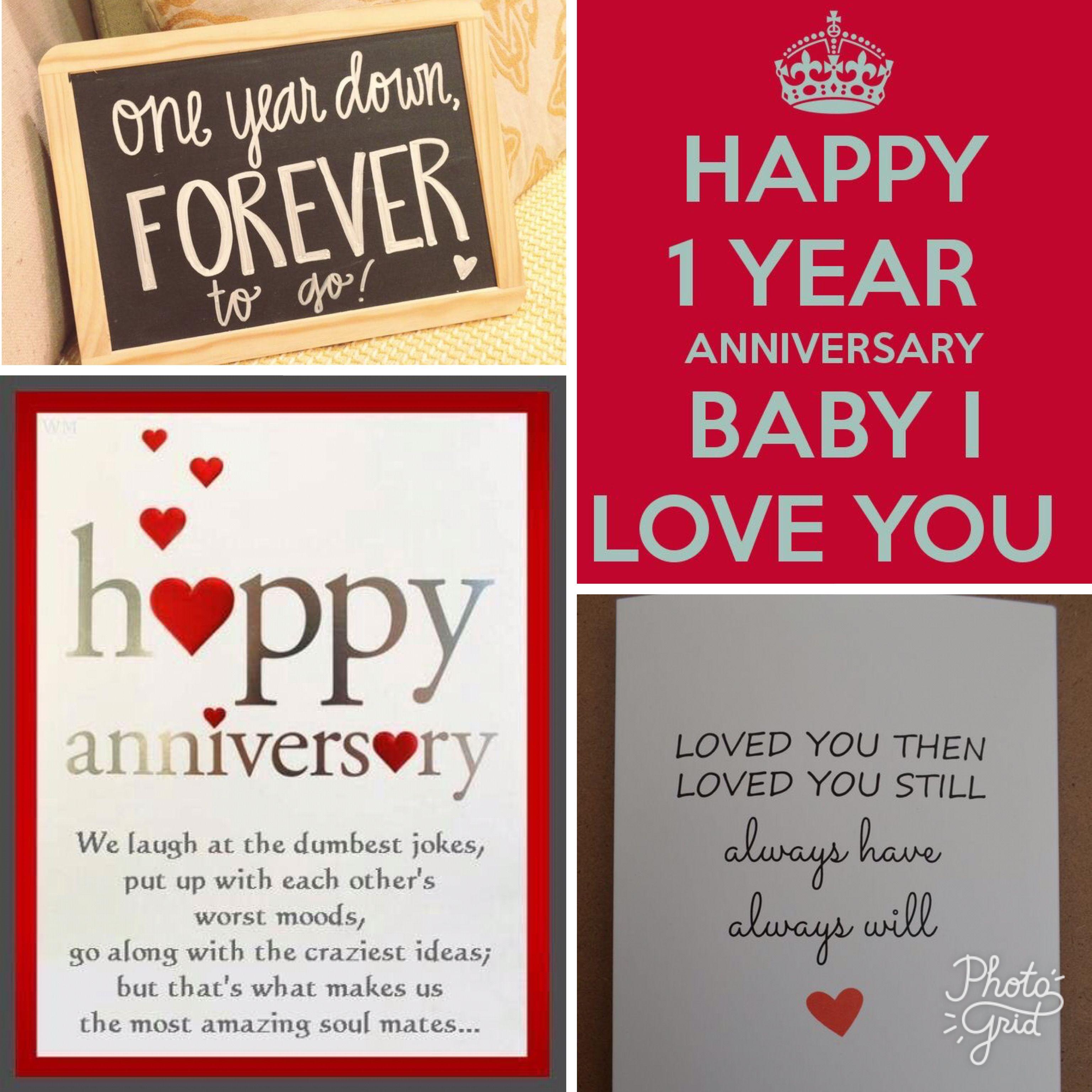 1 Year Relationship Anniversary Wishes For Boyfriend