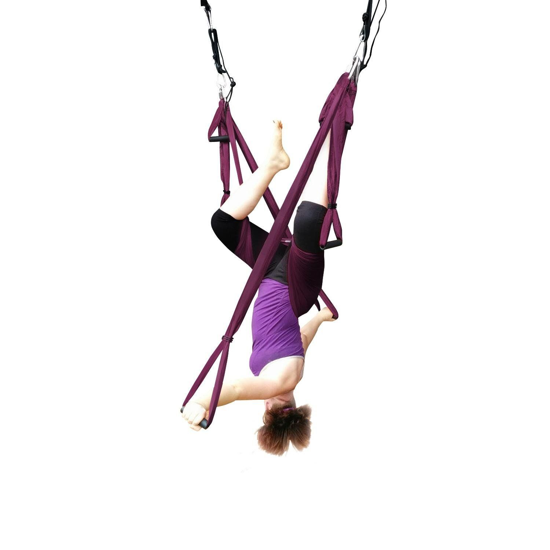 Das leben yoga trapeze flying hammock yoga swingslinginversion
