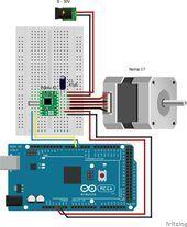 Ansteuerung eines Stepper Motors mit einem Arduino – Control of a stepper motor …