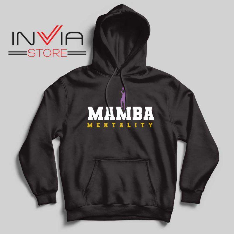 Mamba Mentality Kobe Bryant Hoodie Black Mamba S-2XL ...