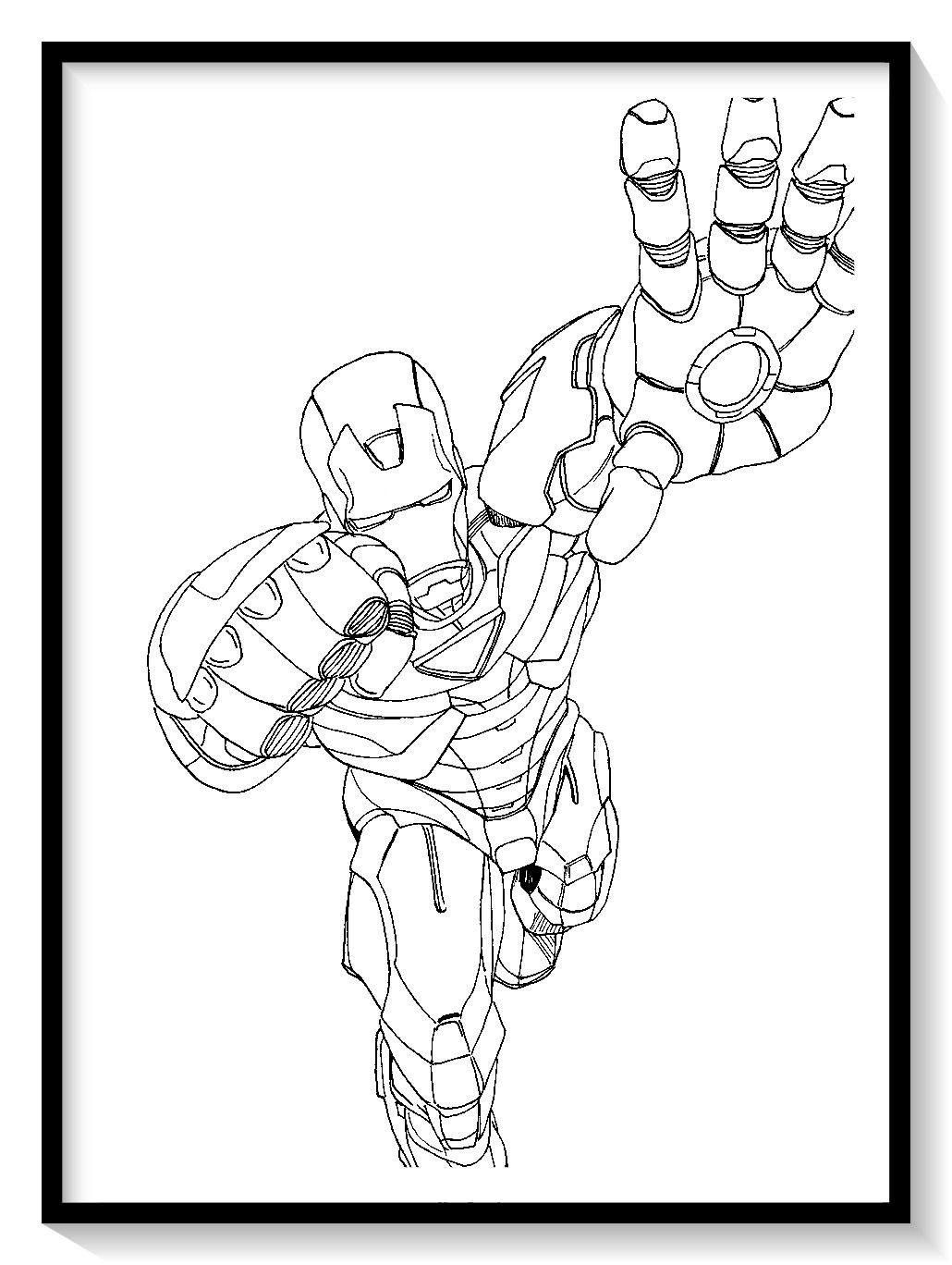 Dibujos De Iron Man Para Colorear En Linea Colorear E Imprimir Ironman Ironman Para Pinta Coloring Pages Avengers Coloring Pages Lego Coloring Pages