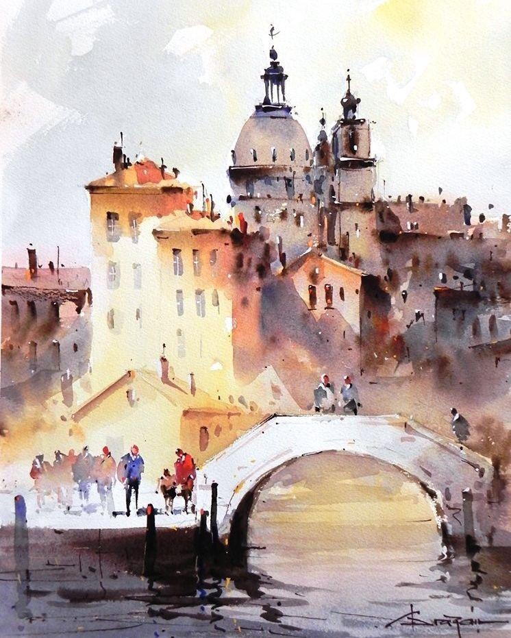 Watercolor Art On Instagram Good Morning Everyone Watercolor