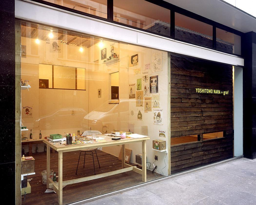 Yoshitomo Nara London Mayfair House 2006 Mayfair house