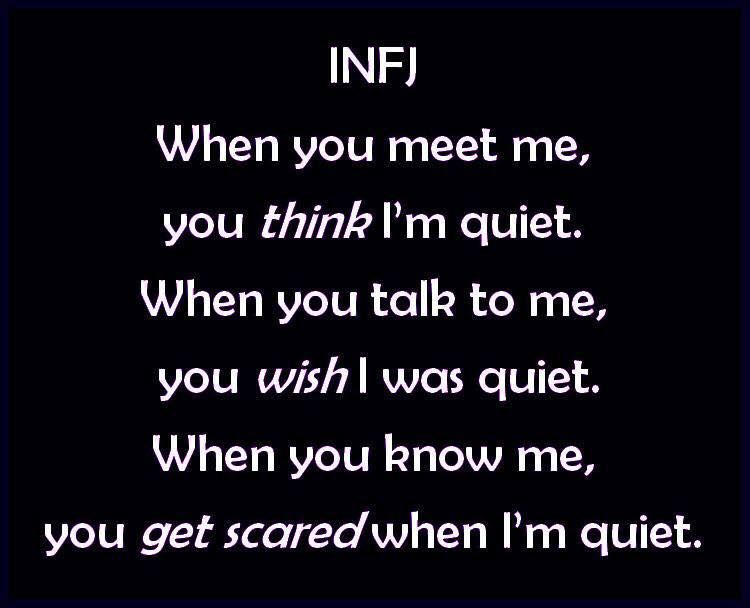 #infj I May Have Pinned This Before, But It's A Good One