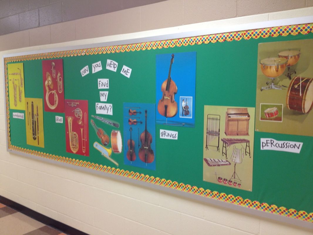 Elementary Music Classroom Decorations : Decor classroom organization family bulletin boards and