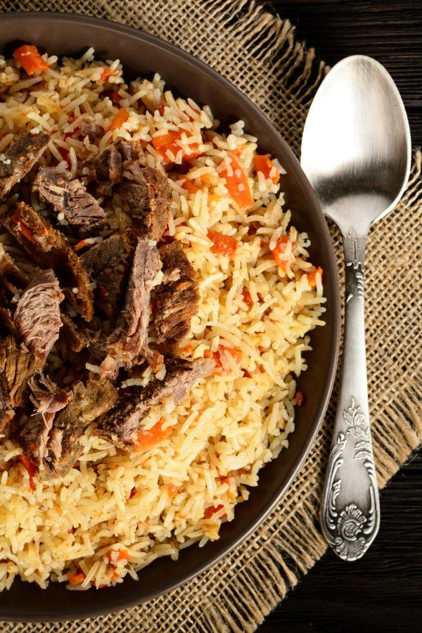 Photo of So machen Sie Plov! Russische Reispfanne mit Rindfleisch