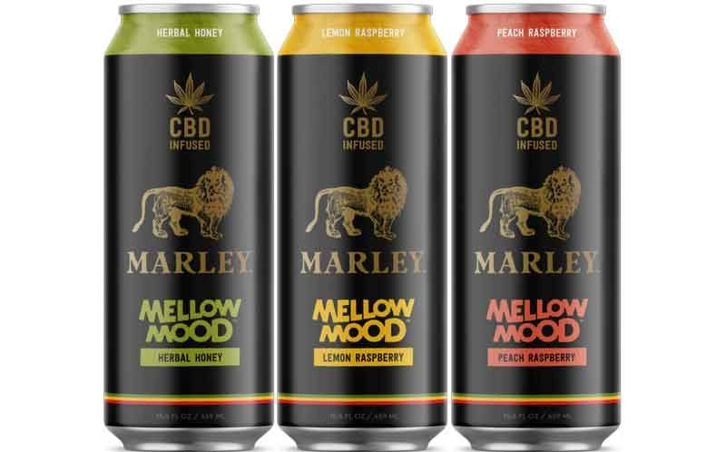 New Age Beverages Introduces Marley Line Of Cbd Infused Drinks Cbd Drinks Mood Drinks