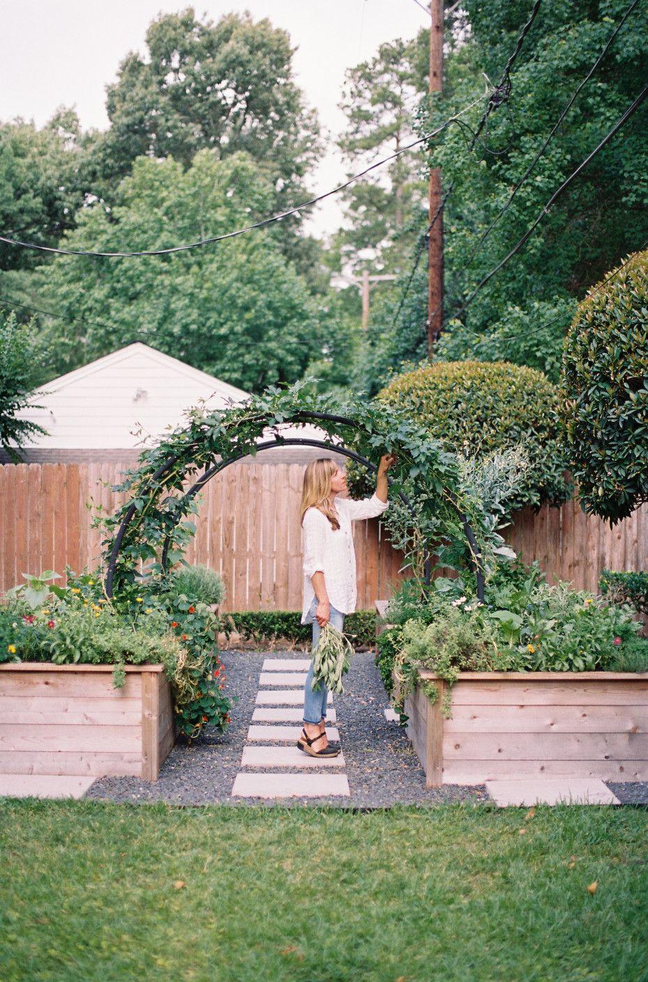 arch trellis ideas for the kitchen garden gardenary in 2020 backyard garden beds backyard on kitchen garden id=80020