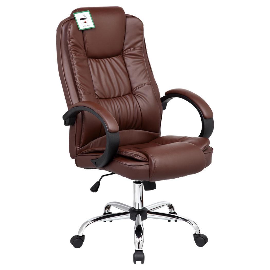 Brown Leder Buro Stuhl Stuhlede Com Stuhle Kleiner Tisch Und Stuhle Burostuhl