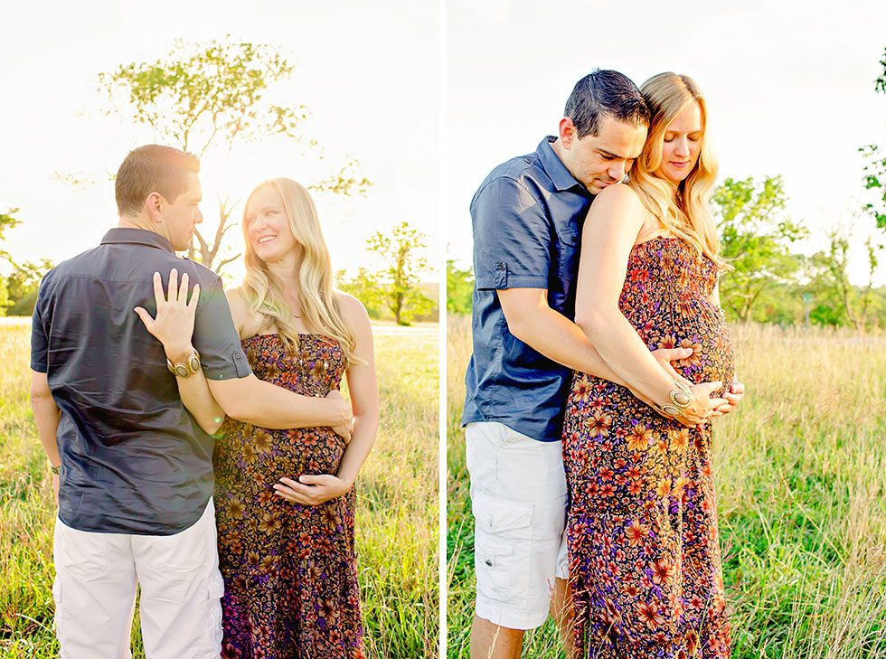 Maternity Picture Poses With Husband