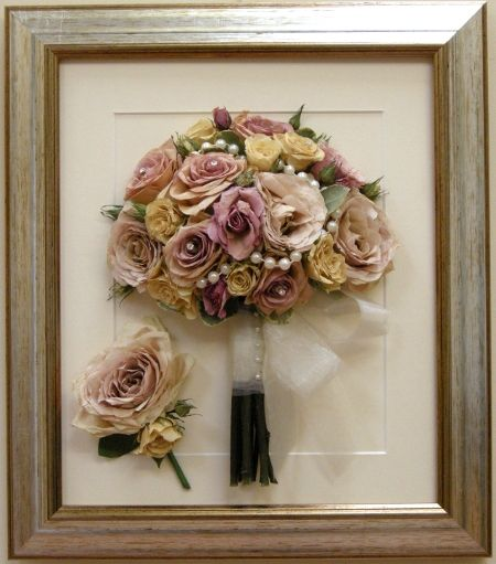 Do It Yourself Wedding Gown Preservation: Wedding Bouquet Preservation Specialists