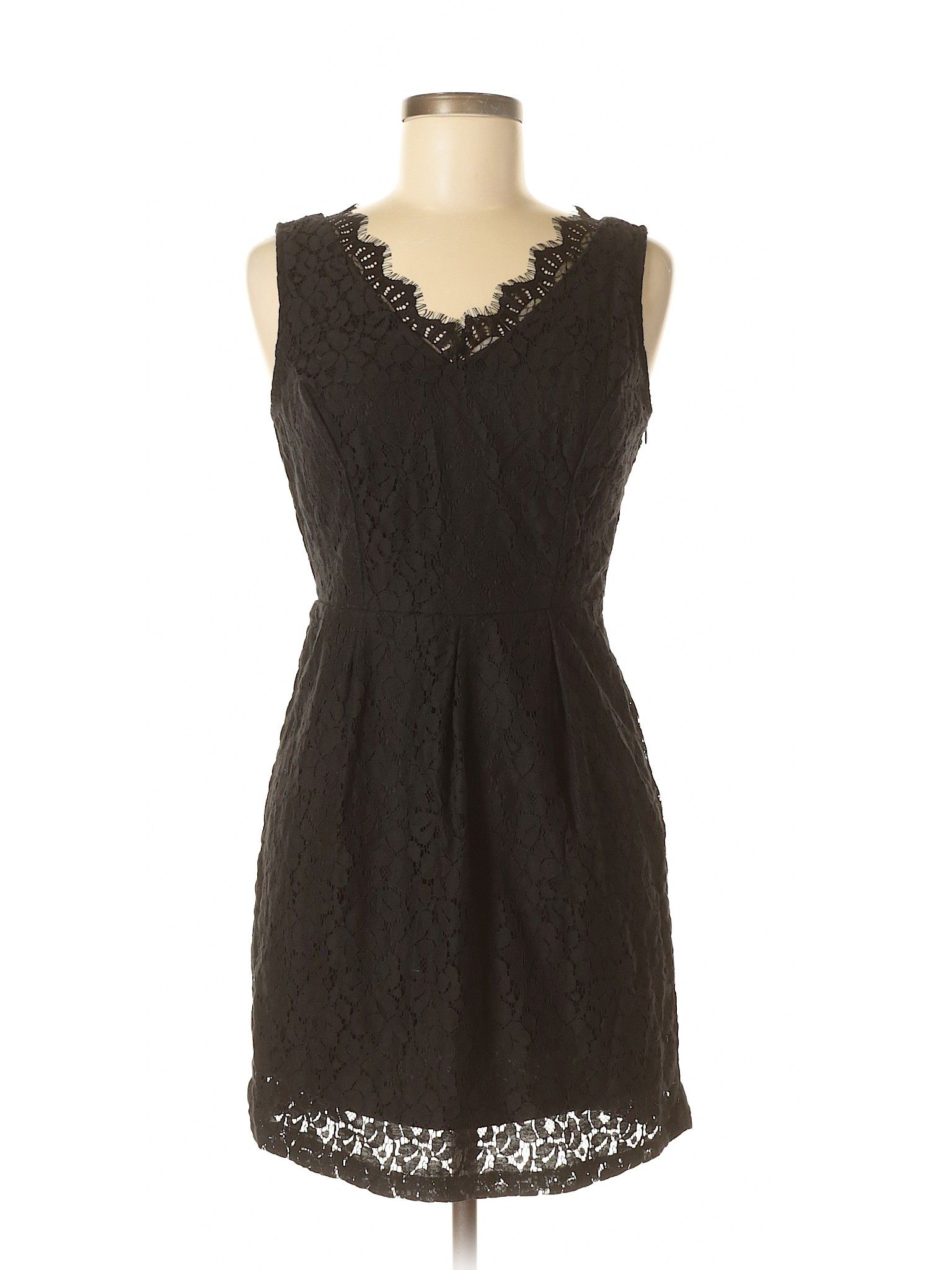 Hearts Casual Dress A Line Black Lace Dresses Used Size Medium Dresses Little Black Dress