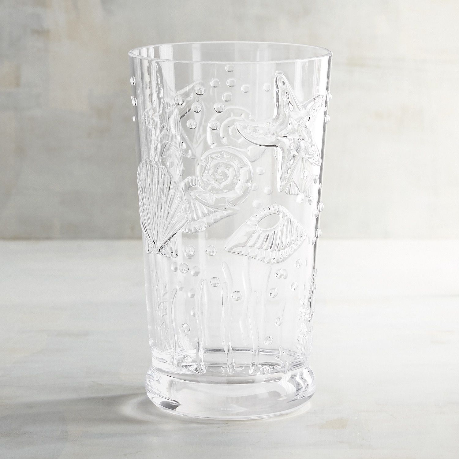 0f6c35ec83c Oceans Embossed Acrylic Tumbler Clear | *Glassware & Bar > Wine ...