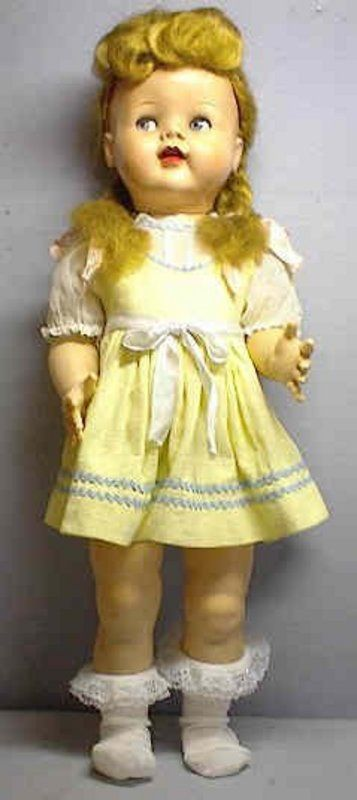 Saucy Walker Doll Vintage Ideal Saucy Walker Doll 22