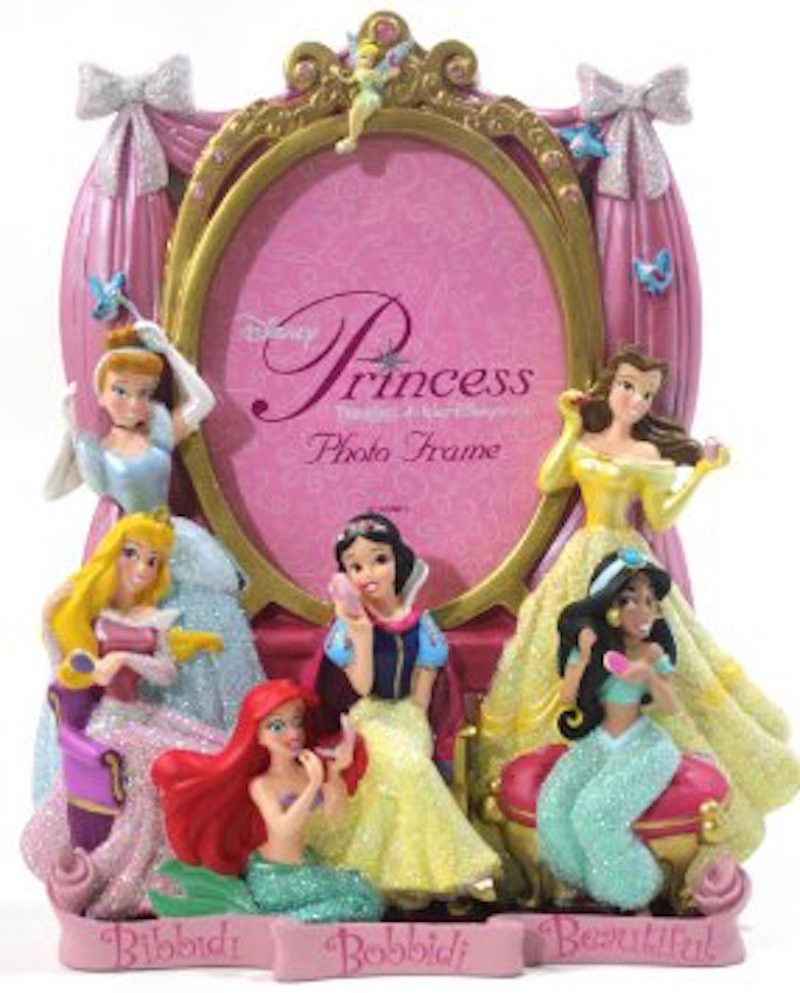 Disney Photo Picture Frame Bibbidi Bobbidi Boutique Princess 4 X
