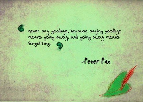16 Peter Pan Quotes That Will Make You Never Want To Grow Up Peter