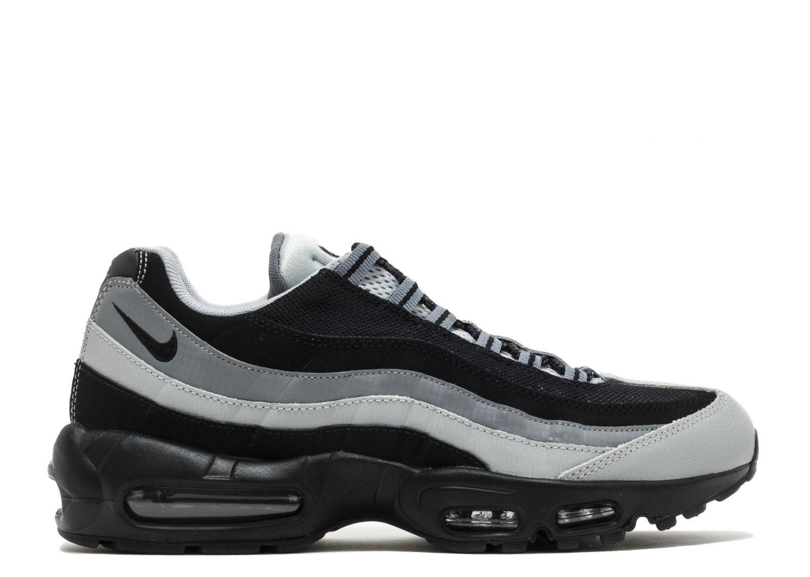 huge discount 77238 31da1 Sale Nike Air Max 95 Black Grey Charcoal Trainers Price