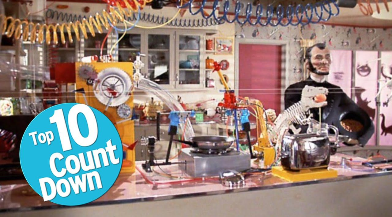 Top 10 Rube Goldberg Machines in Movies Rube goldberg
