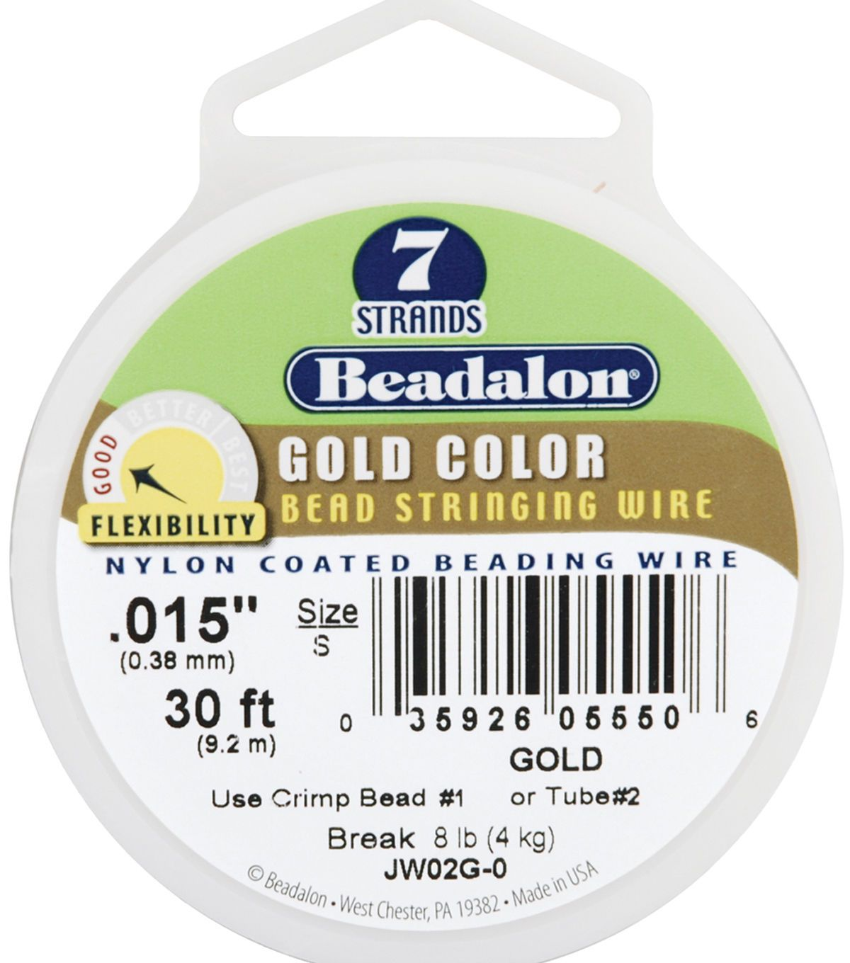 Beadalon Strand Nylon Coated Bead Stringing Wire Products