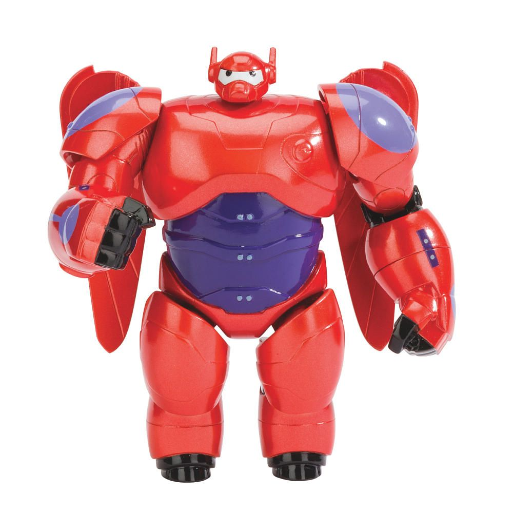 Toys For 6 : Big hero baymax armored figure bandai toys quot r