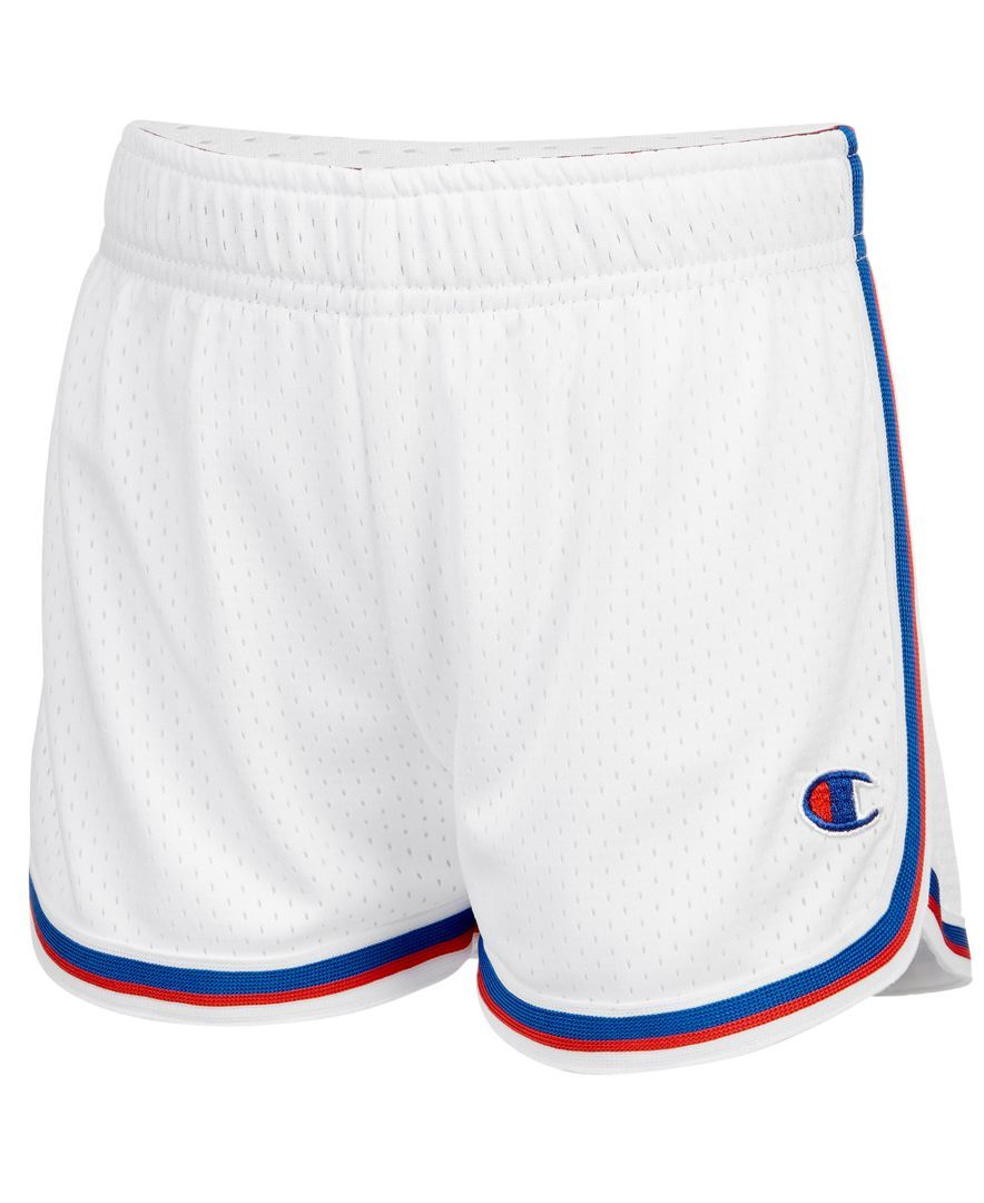 f6be7e59a984 Champion Heritage Mesh Fold-Over Shorts