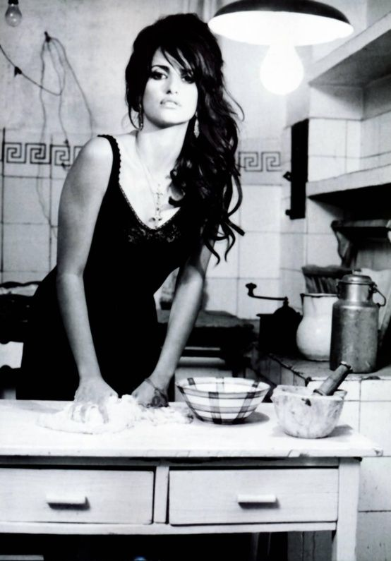 Penelope cruz simply like that why not