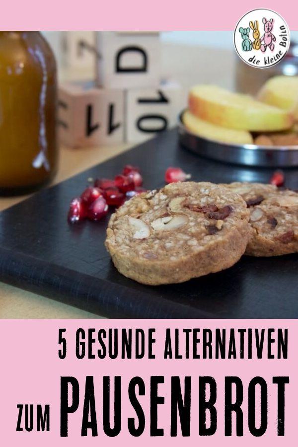 5 Alternativen zum Butterbrot – Schuljause mal anders