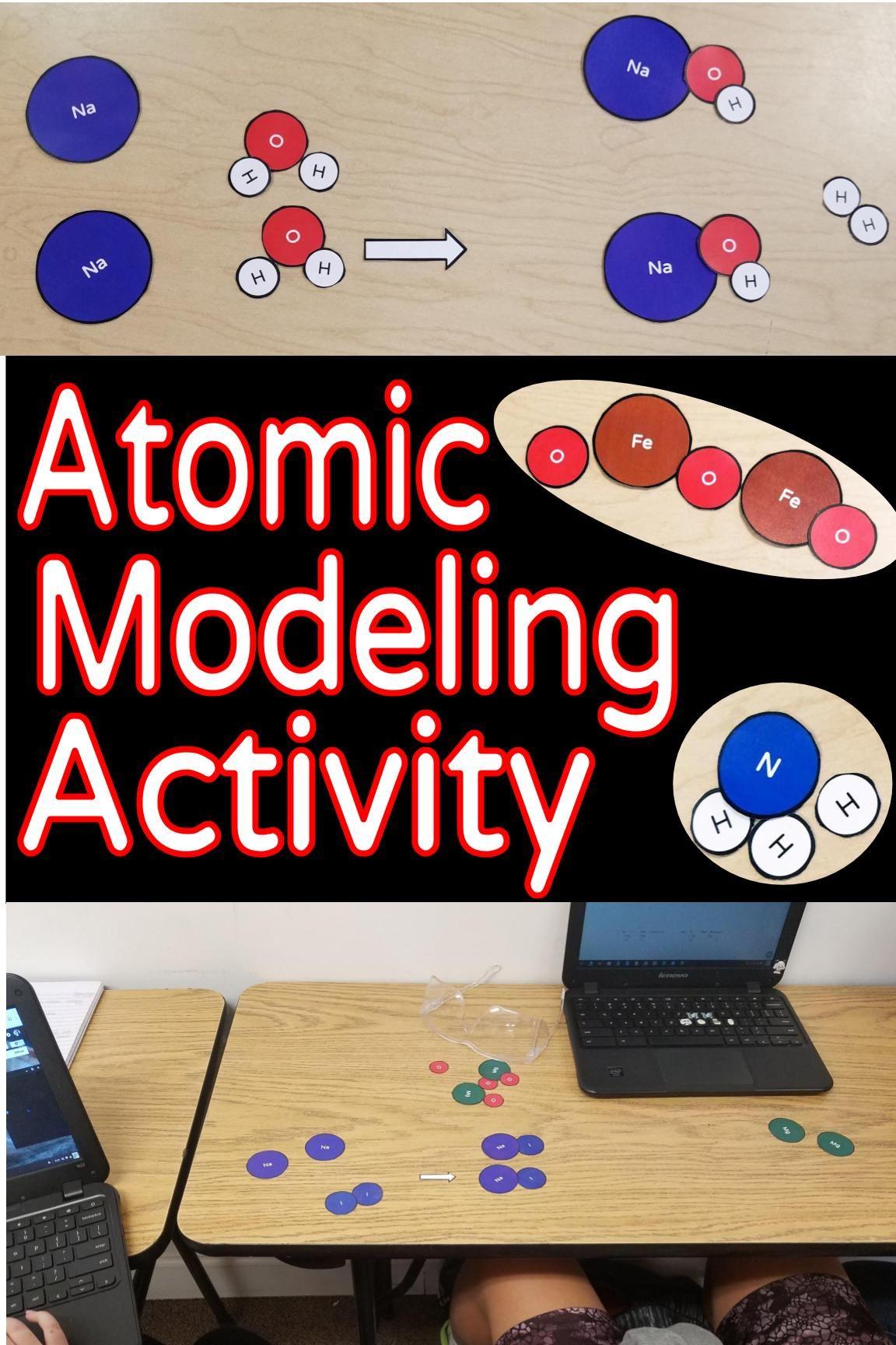 Atomic Models Amp Modeling Activity