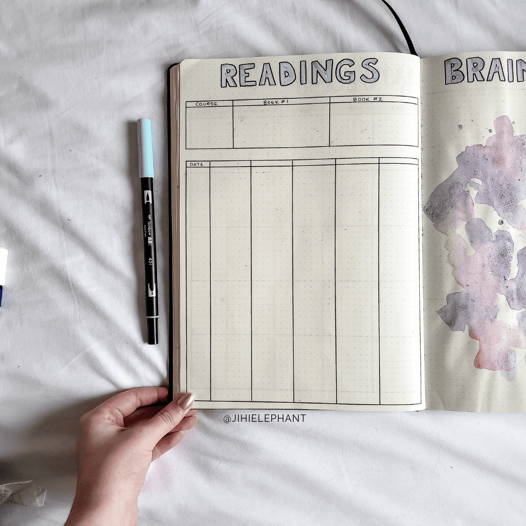 Gi's Reflection and School Bullet Journal   Journaling