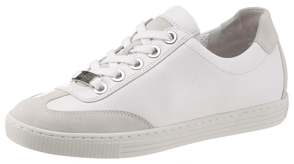 GABOR Sneaker Damen, Weiß, Größe 36 | Turnschuhe, Schuhe