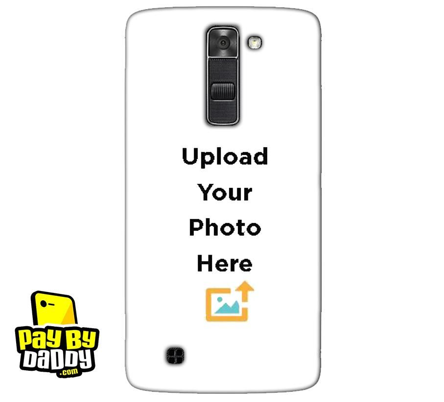 new product f1a36 84caa Customized LG K7 Mobile Phone Covers & Back Covers with your Text ...