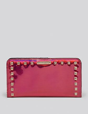 REBECCA MINKOFF Hologram Veronica Continental with Studs Wallet
