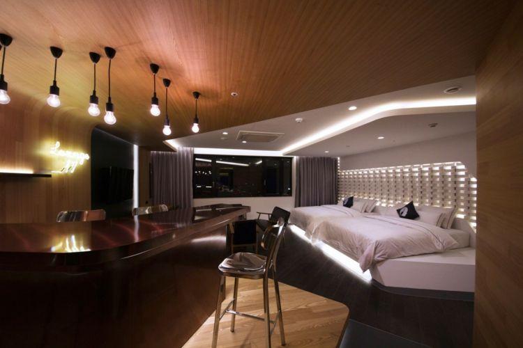 Attraktiv Hotelzimmer Design Mit Indirekter Beleuchtung U2013 Luxus Pur! #beleuchtung # Design #hotelzimmer #