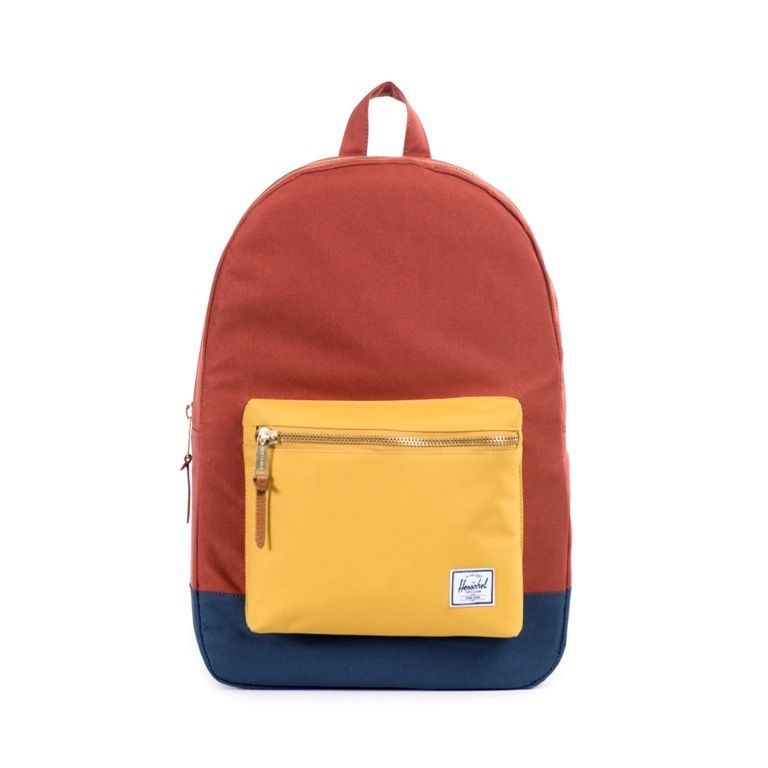 Herschel Supply Co. Settlement Backpack Day Bag - Rust Copper Navy   backtoschool  backpack  style 2c4127c574f25