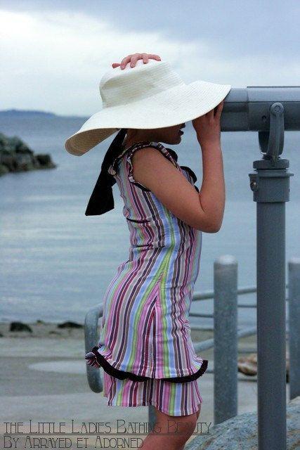 9cf79017b24ba Bathing Beauty Swim Wear- A Modest Swim Suit for the Little Lady Sample  size 10 11.  75.00