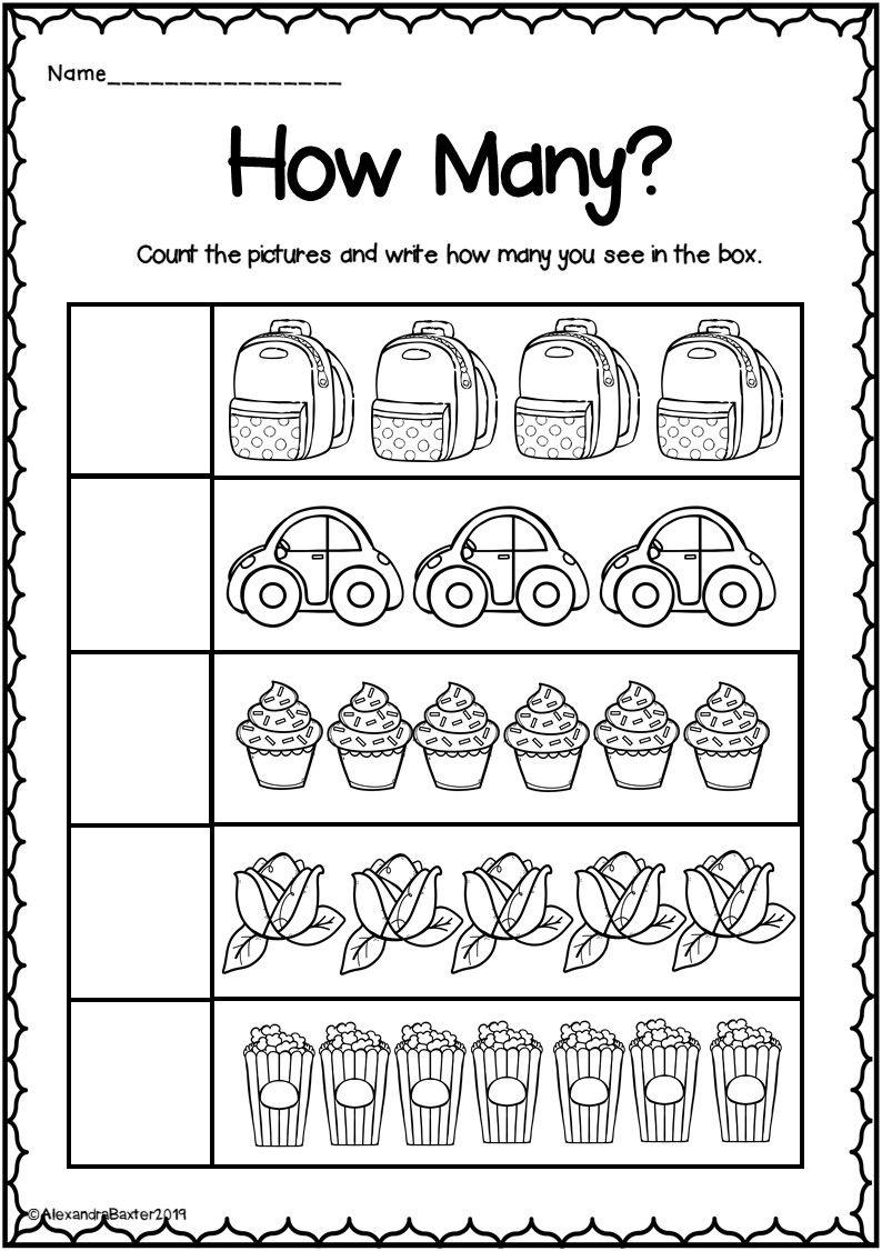 Counting By 10 S Worksheet Kindergarten