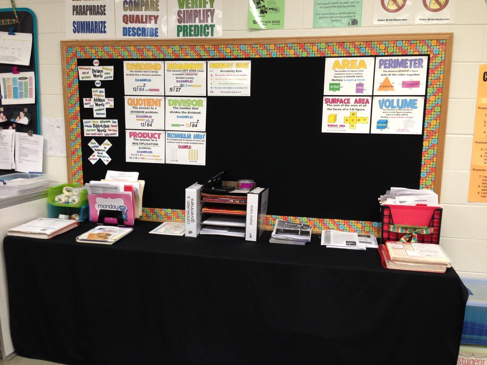 6th Grade Science Classroom Decorations : Math science social studies oh my classroom