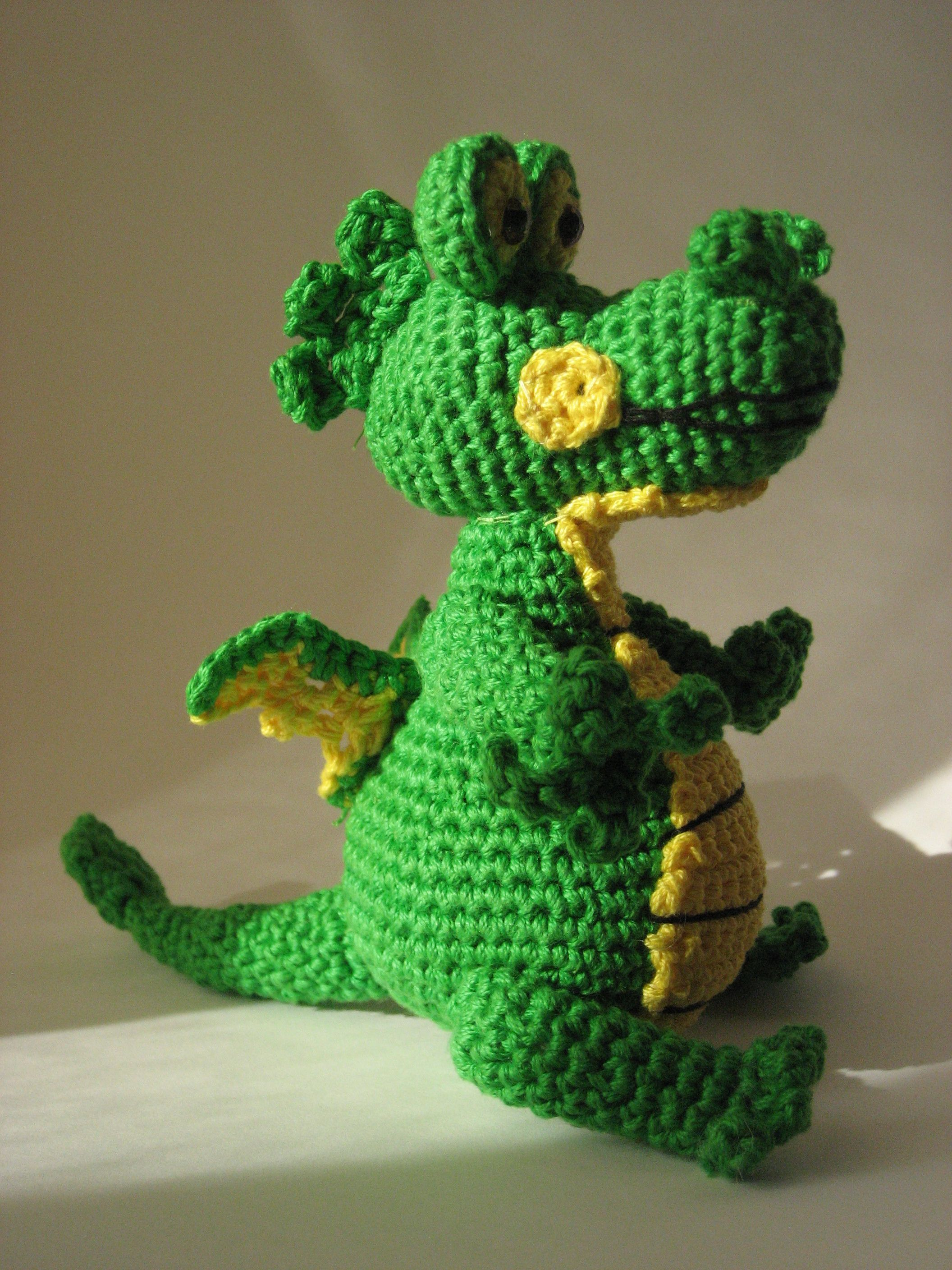 Amigurumi Drachen Gratis Pdf Häkelanleitung Projects To Try