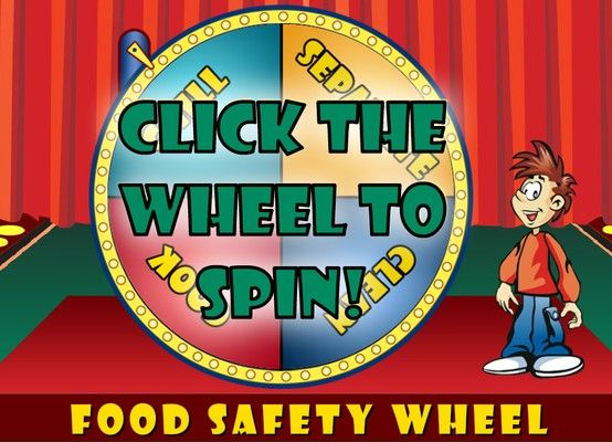 Health Canada Food Safety Wheel Game self assessmente as - food safety quiz