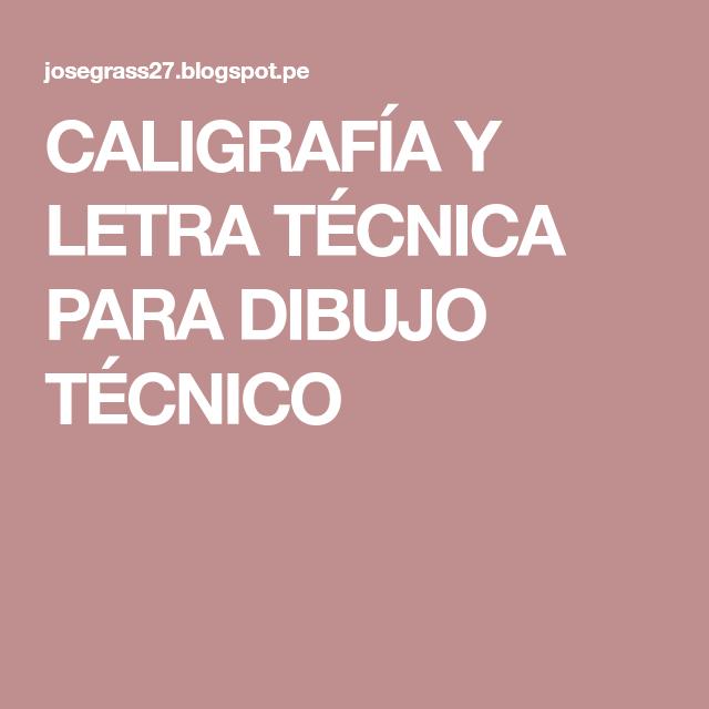 Caligrafia Y Letra Tecnica Para Dibujo Tecnico Calm Artwork Calm Keep Calm Artwork