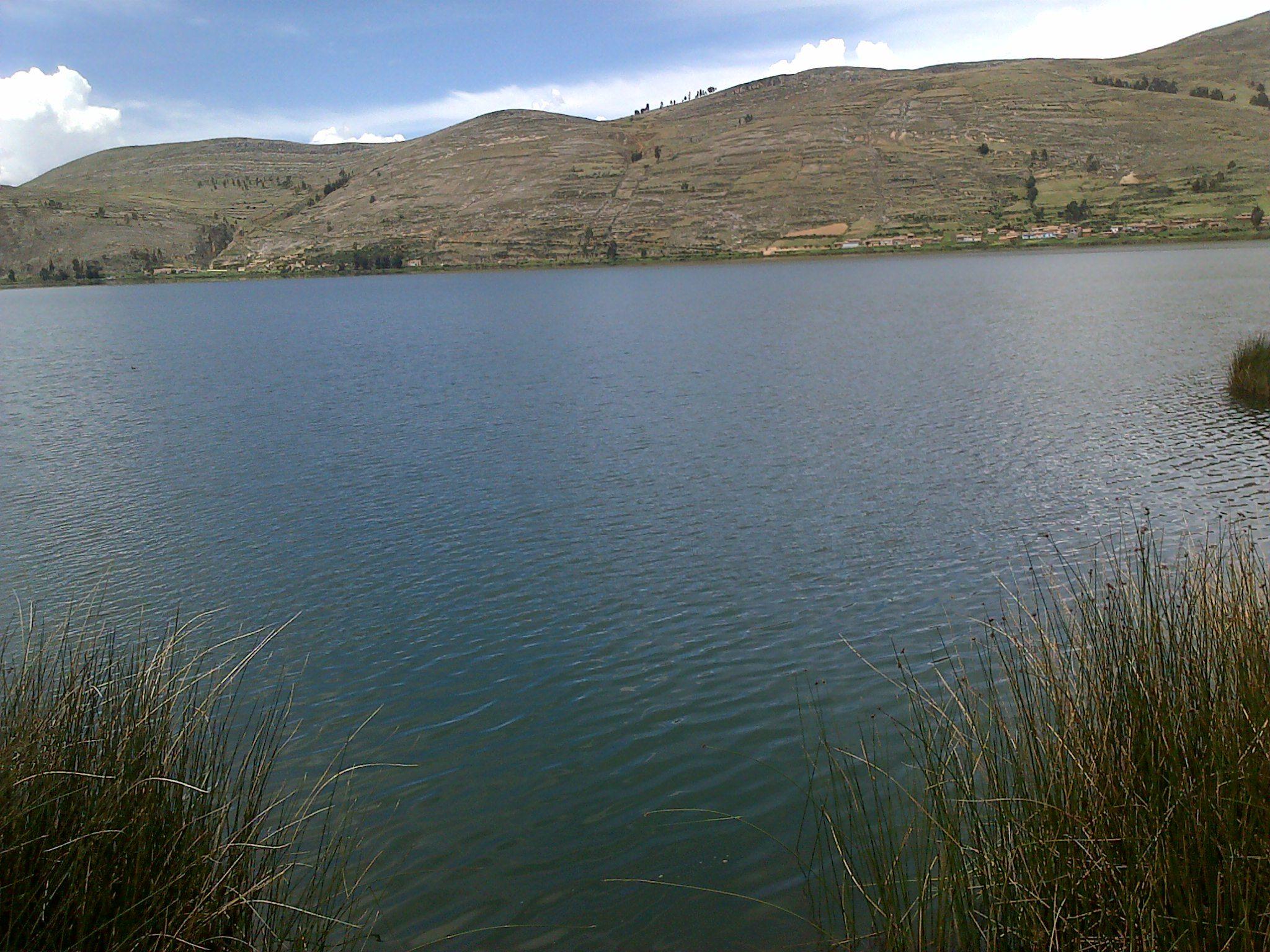 Vista de la Laguna de Paca